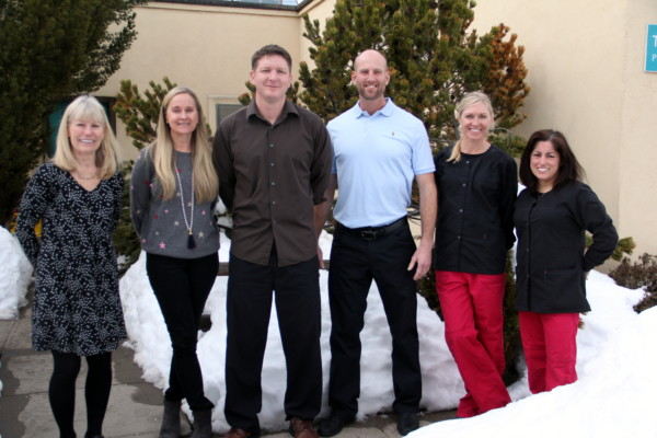 Twin Buttes Dental team